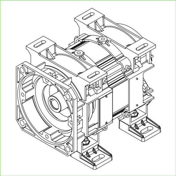 48 Frame Motor